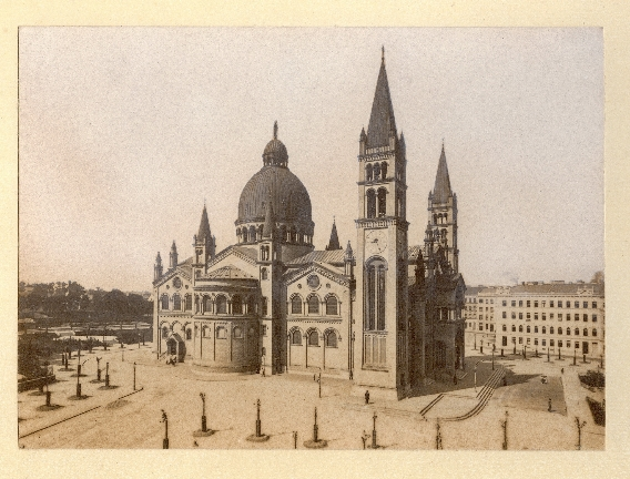 Antonkirche in Favoriten um 1902