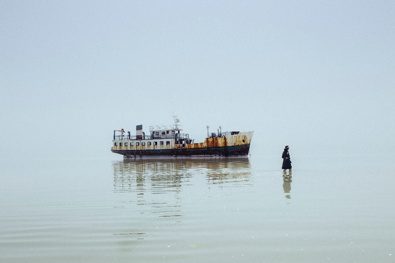 Solmaz Daryani aus der Serie The Eyes of Earth, The Death of Lake Urmia, seit 2014