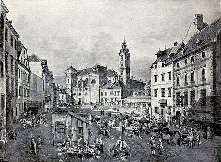 Old Market In The City Centre History