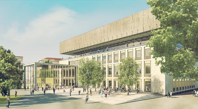 """Проект розширення й оновлення Музею історії Відня на площі Карльсплятц - підсумок роботи бюро """"Phase eins"""". Фото: wien.at"""