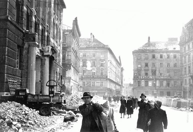 Image result for vienna 1945 images