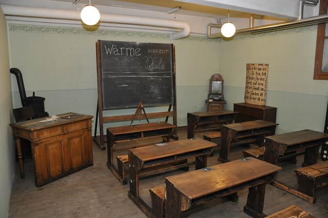 Klassenzimmer Früher