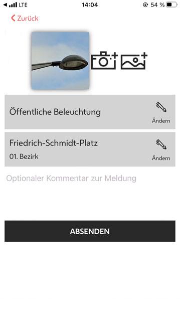 Sag's Wien Die App für Ihre Anliegen an die Stadt