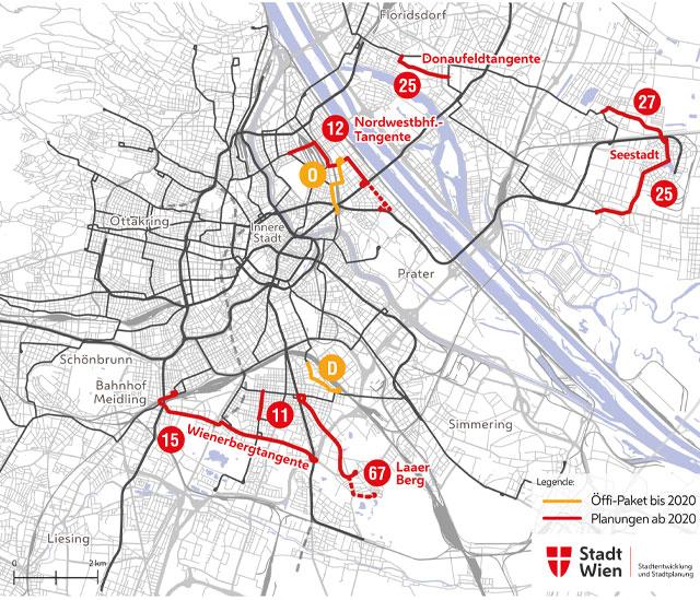 Zukunft Der Straßenbahn In Wien