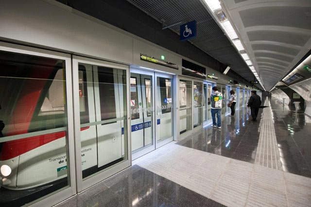 Automated Trains On New Underground Line U5 In 2023