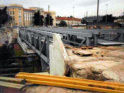 Umbau der wienerbergbr cke 2000 bis 2002 for Fachwerkkonstruktion stahl