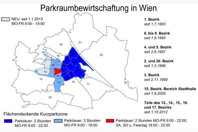 Ausweitung Der Parkraumbewirtschaftung 20122013