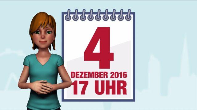 ÖGS - Wiederholung der Stichwahl der Bundespräsidentenwahl 2016 - Informationen zur Briefwahl