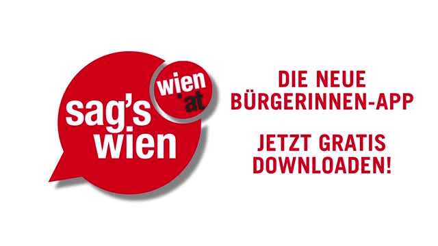 """""""Sag's Wien""""-App"""