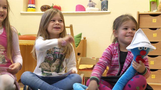 Sprachliche Frühförderung im Kindergarten