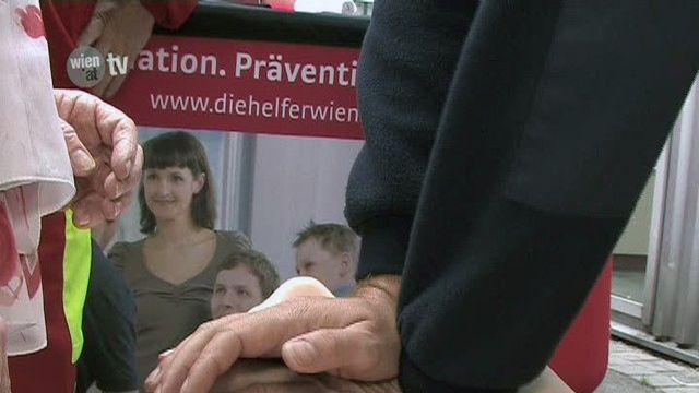 """""""Wien da bin ich sicher"""" - Die große Sicherheitstour der Helfer Wiens"""