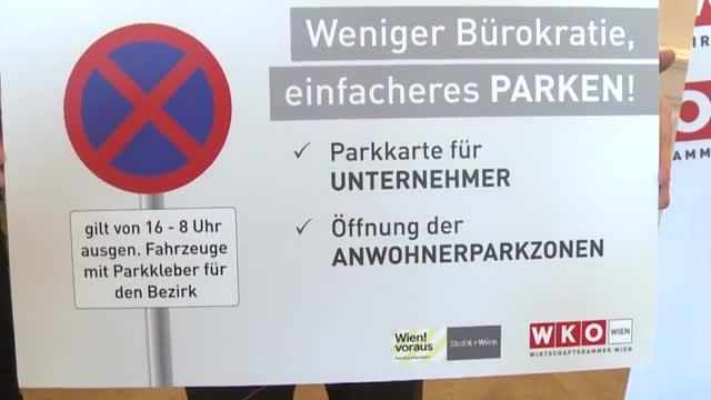 Stadt Wien öffnet Anrainer-Parkplätze für alle