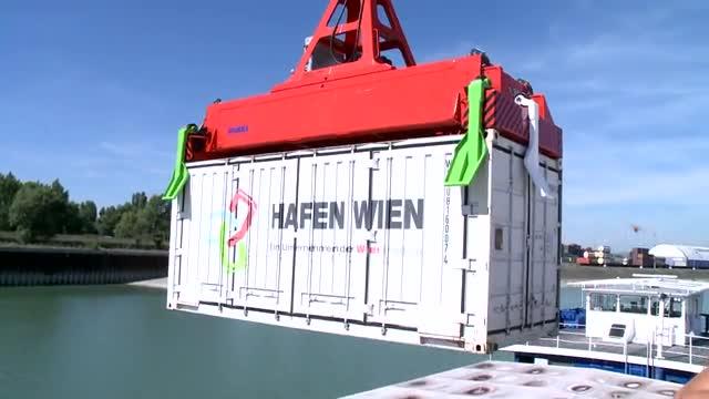 Hafen Wien feiert Rekordjahr 2016, plant für 2017