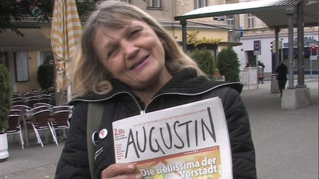 15 Jahre Augustin Straßenzeitung