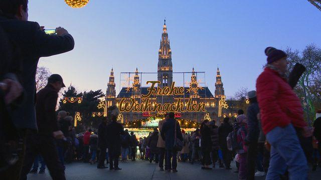Weihnachtstraum auf dem Rathausplatz