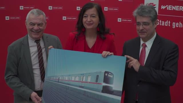 Das sind Wiens U-Bahnen der Zukunft