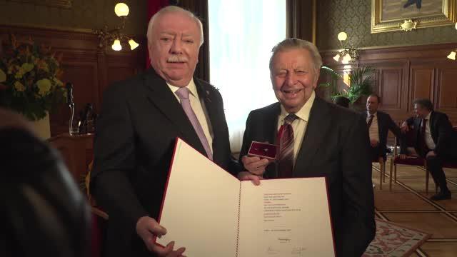 Hugo Portisch ist Ehrenbürger der Stadt Wien