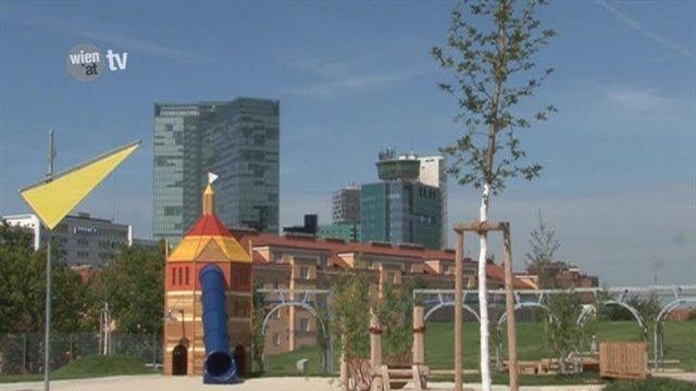 Neuer Wasserspielplatz in Favoriten 2011