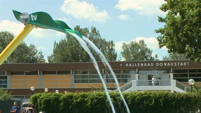 Neuer Außenbereich im Donaustädter Bad