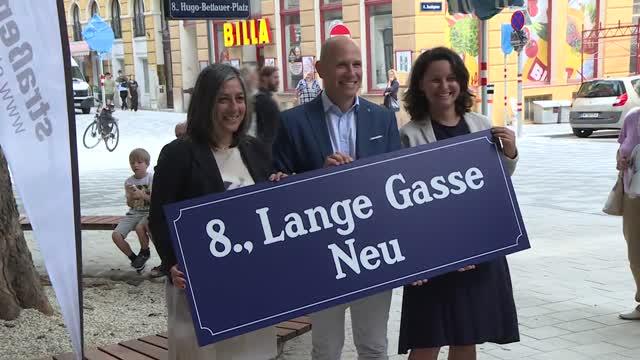 Eröffnung Begegnungszone Lange Gasse
