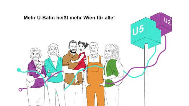 Linienkreuz U2u5 Wien Plant Eine Neue U Bahn Wienat Video
