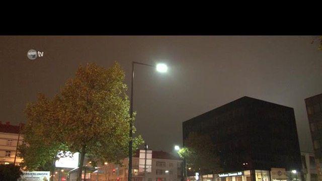 Neue Straßenbeleuchtung für Wien