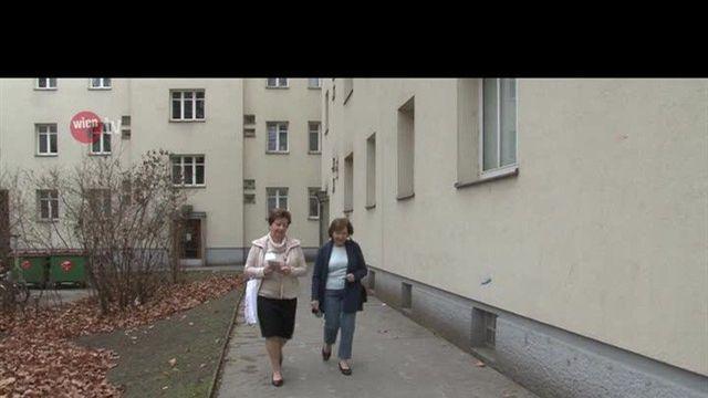 Nachbarschaftsaktion in Wiener Gemeindebauten