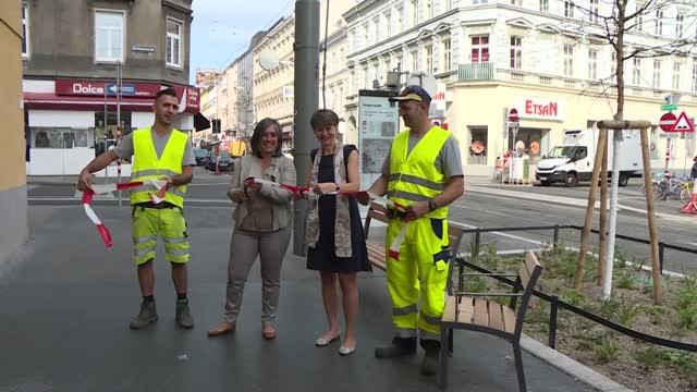Währinger Straße erstrahlt in neuem Glanz