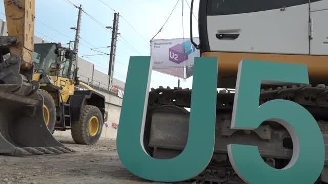 Spatenstich für U2/U5-Linienkreuz