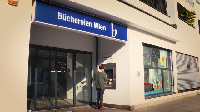 Büchereien Wien: Rückgabeautomat