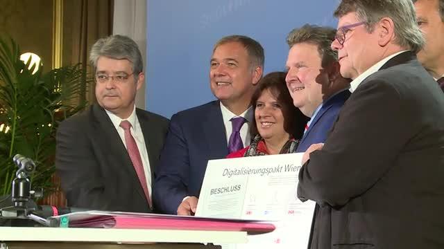 Wien wird Digitalisierungs-Hauptstadt