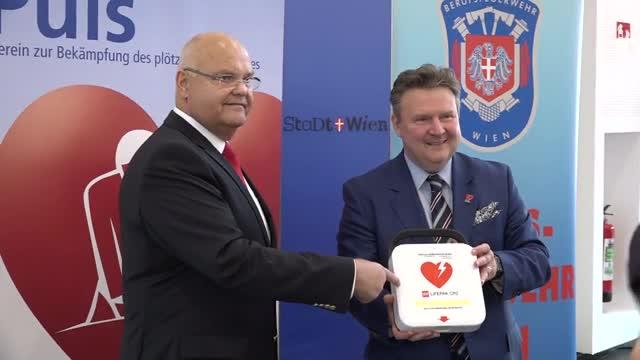 Wien sagt dem plötzlichen Herztod den Kampf an
