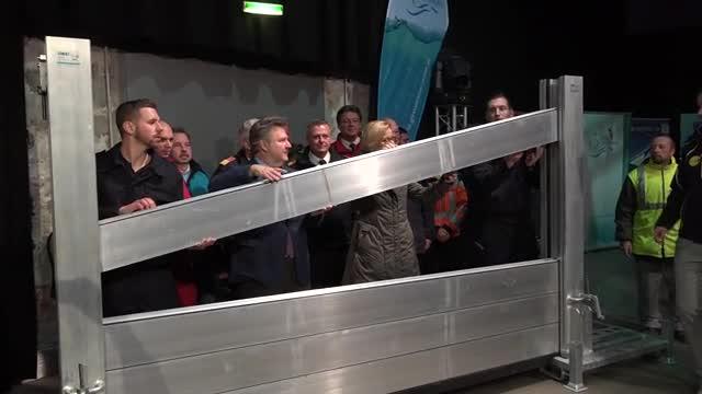 Ludwig bei größter Hochwasser-Übung Österreichs