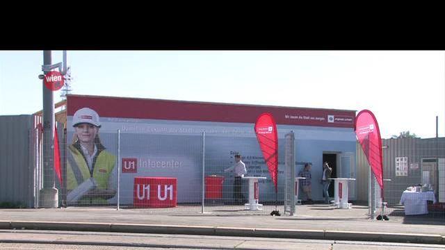 Neues Infocenter zur U1-Verlängerung