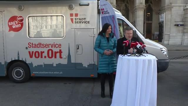 Erfolgsbilanz des Stadtservice Wien 2018
