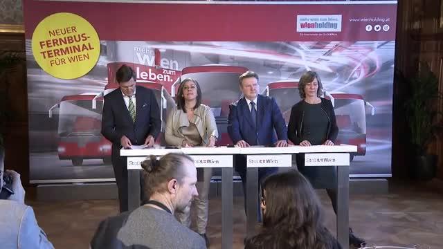 Wien bekommt einen neuen Fernbus-Terminal