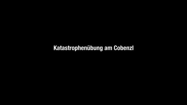 Waldbrand-Übung am Cobenzl