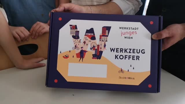 Kinder gestalten den Bezirk - Werkstatt Junges Wien in Mariahilf