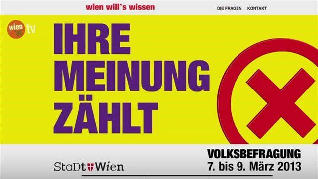 Wiener Volksbefragung - Kommunale Betriebe