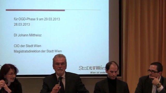 X. OGD Plattform Wien am 28.3.2013