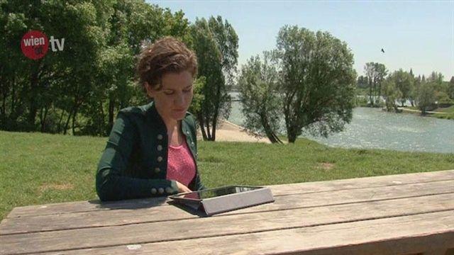 WLAN auf der Donauinsel