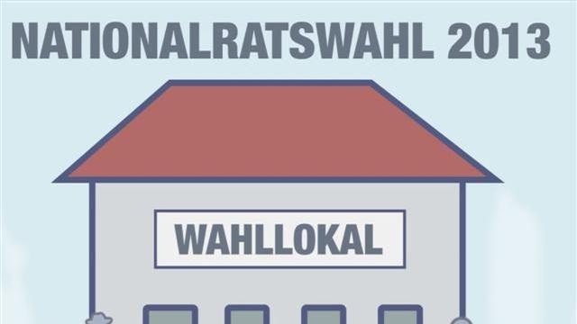 Briefwahlvideo zur Nationalratswahl 2013