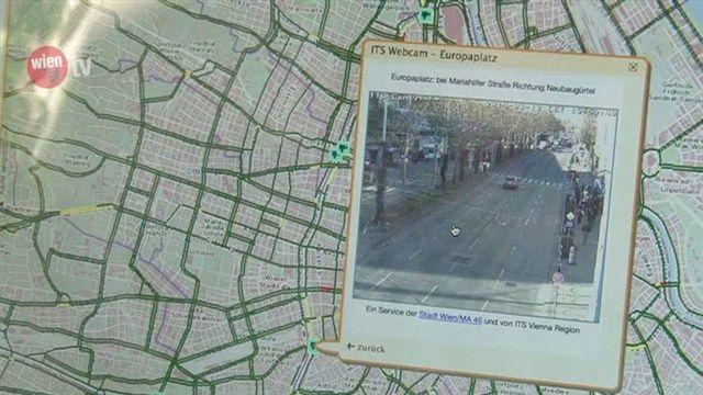 Neue wien.at-Webcams zeigen Verkehrslage