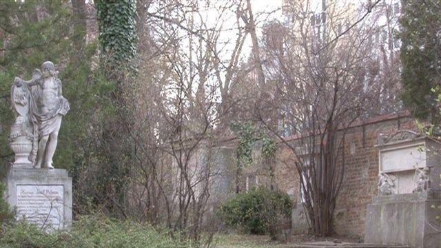stadtUNbekannt: Schubertpark ehemals Währinger Ortsfriedhof