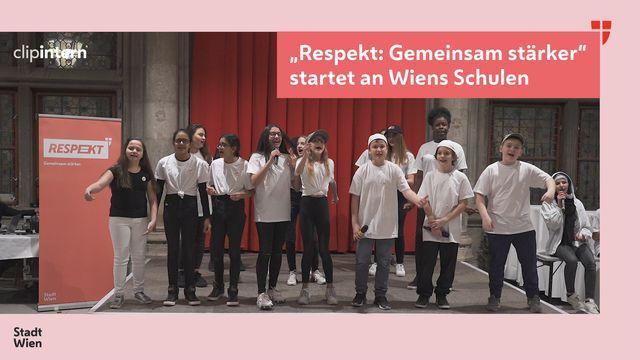 """clipintern: Auftaktveranstaltung für """"Respekt. Gemeinsam stärker"""""""