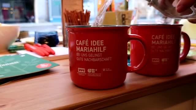 Eröffnung Café Idee