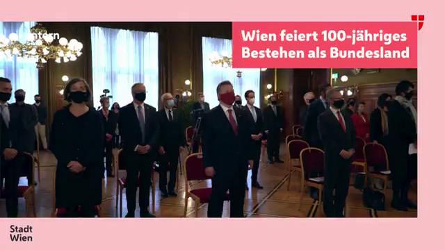 100 Jahre Wien als Bundesland