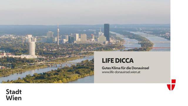 LIFE DICCA - gutes Klima für die Donauinsel