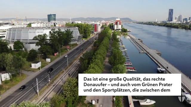 """""""Waterfront"""": An der Donau im 2. Bezirk entsteht ein neues Quartier"""