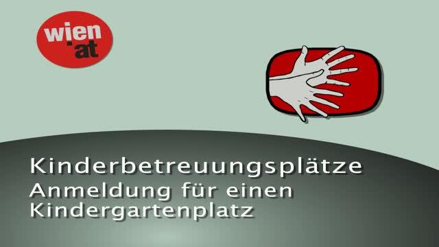 Kindergartenplatz - Anmeldung